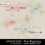 New Beginning LJ Scatterz Pack-$2.49 (Lindsay Jane)