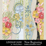 New Beginning LJ Border Pack-$2.49 (Lindsay Jane)