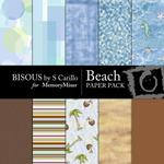 Beach Paper Pack-$3.99 (Bisous By Suzanne Carillo)