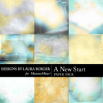 A New Start Artsy Paper Pack-$4.99 (Laura Burger)