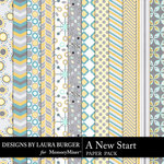 A New Start Pattern Paper Pack-$4.99 (Laura Burger)