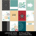 A Good Day LJ Journal Card Pack-$2.49 (Lindsay Jane)