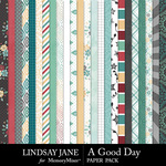 A Good Day LJ Paper Pack-$2.99 (Lindsay Jane)