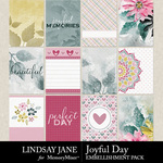 Joyful Day Journal Cards Pack-$1.75 (Lindsay Jane)