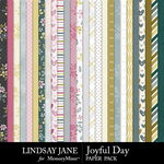 Joyful Day Paper Pack-$2.99 (Lindsay Jane)