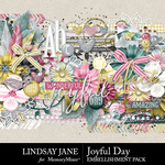 Joyful Day Embellishment Pack-$3.49 (Lindsay Jane)