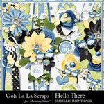 Hello There Page Borders Pack-$2.49 (Ooh La La Scraps)