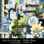 Hello There Combo Pack-$4.99 (Ooh La La Scraps)