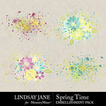 Spring Time LJ Scatterz Pack-$2.49 (Lindsay Jane)