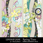 Spring Time LJ Borders Pack-$2.49 (Lindsay Jane)