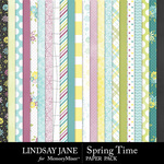 Spring Time LJ Paper Pack-$2.99 (Lindsay Jane)