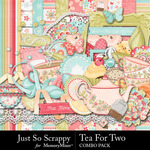 Tea for Two Combo Pack-$4.99 (Just So Scrappy)