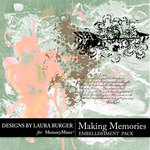 Making Memories Brushes Pack-$4.99 (Laura Burger)