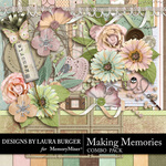 Making Memories Combo Pack-$8.99 (Laura Burger)