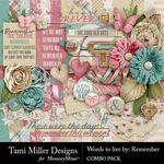 Words to Live By Remember Combo Pack-$8.99 (Tami Miller)