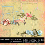 Lifes Journey Be You Cluster Pack-$4.99 (Laura Burger)