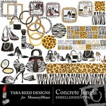 Concrete Jungle Embellishment Pack-$3.50 (Tara Reed Designs)