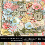 Lifes Journey Be You Combo Pack-$8.99 (Laura Burger)