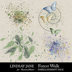 Forest Walk Scatterz Pack-$2.49 (Lindsay Jane)