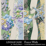Forest Walk Borders Pack-$2.49 (Lindsay Jane)