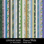 Forest Walk Paper Pack-$2.99 (Lindsay Jane)