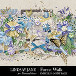 Forest Walk Embellishment Pack-$3.49 (Lindsay Jane)