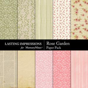 Rose garder paper pack p001 medium