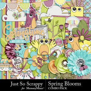Spring blooms kit medium