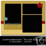 The Little Things January QuickMix-$3.00 (Lasting Impressions)