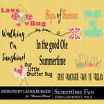 Summertime Fun Wordart Pack-$3.99 (Laura Burger)