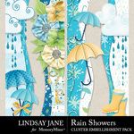 Rain Showers Borders Pack-$2.49 (Lindsay Jane)