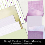 Easter Morning Paper Pack-$3.99 (Becky's Creations)