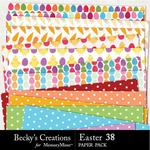 Easter 38 Paper Pack-$3.99 (Becky's Creations)