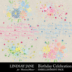 Birthday Celebration Scatterz Pack-$2.49 (Lindsay Jane)