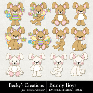 Bunny boys medium