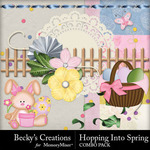Hopping Into Spring Combo Pack-$4.99 (Becky's Creations)