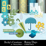 Rainy Days Combo Pack-$4.99 (Becky's Creations)