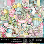 The Joy of Spring Combo Pack-$9.99 (Laura Burger)