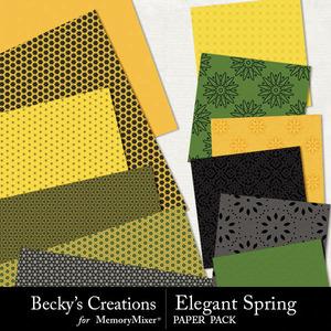 Elegant spring papers medium