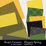 Elegant spring papers small