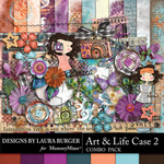 Art and Life Case 2 Combo Pack-$8.99 (Laura Burger)