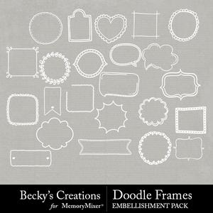 Doodle frames medium