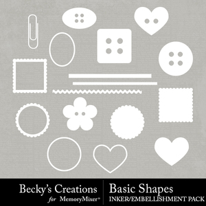 Basic shapes medium