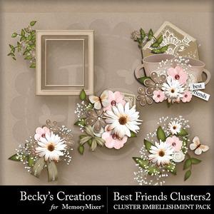 Best friends clusters2 medium