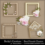 Best friends clusters small