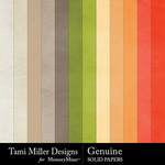 Genuine Solid Paper Pack-$3.49 (Tami Miller)
