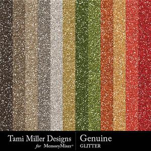 Tmd genuine glitter medium