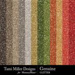 Genuine Glitter Paper Pack-$3.49 (Tami Miller)