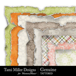 Genuine Torn Paper Pack-$3.49 (Tami Miller)