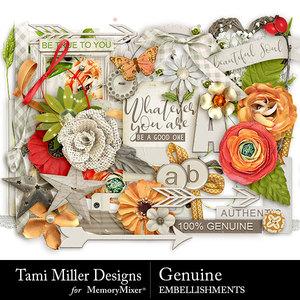 Genuine embellishments medium